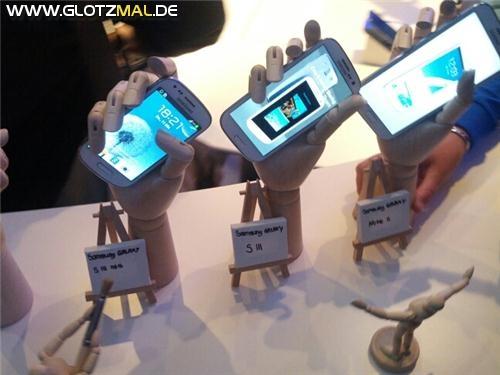 Samsung Galaxy S3 Mini im Vergleich