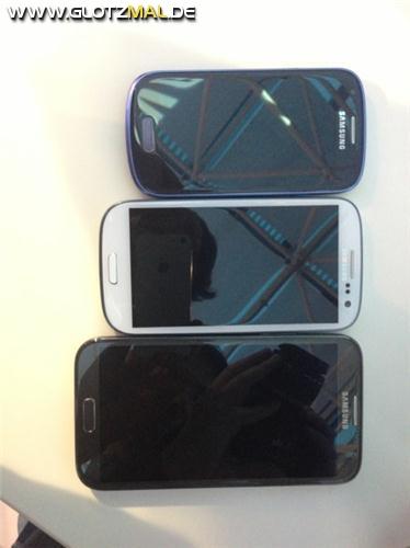S3 Mini, S3, Note 2