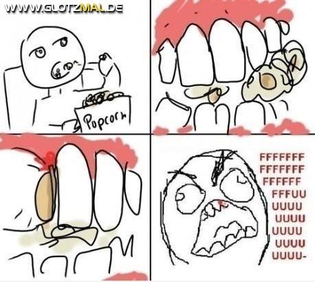 Popcorn essen