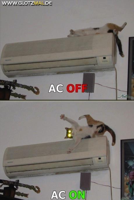 Klimaanlage AN AUS