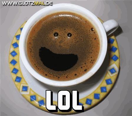 Freundlicher Kaffee