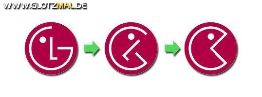 LG Logo = Pacman