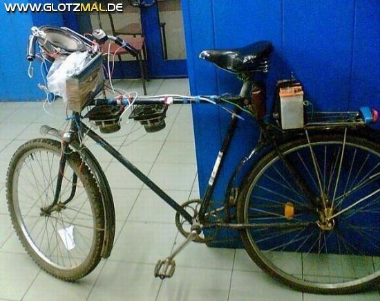Fahrrad Musik Anlage