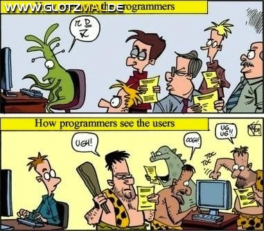 Benutzer und Programmierer